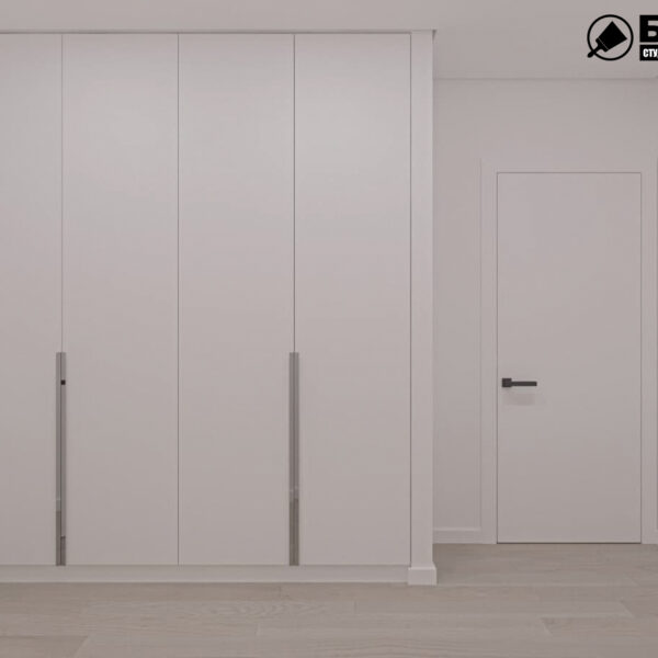 """Дизайн-проект двухкомнатной квартиры ЖК """"Дуэт"""", прихожая"""