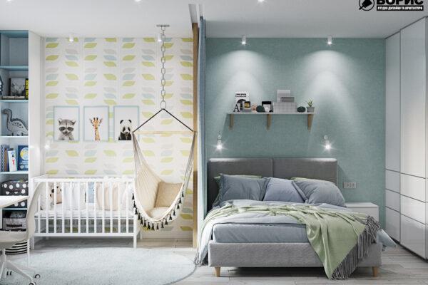 Дизайн-проект интерьера квартиры в ЖК «МЕРИДИАН»