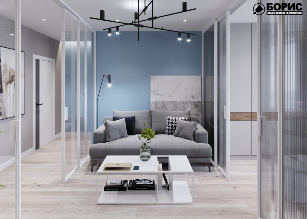 """Дизайн-проект интерьера трёхкомнатной квартиры ЖК """"Пролисок"""", прихожая"""
