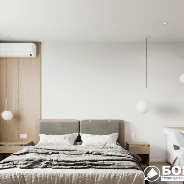 """Дизайн-проект готелю """"CITY LIFE"""", кімната №5 вид спереду"""