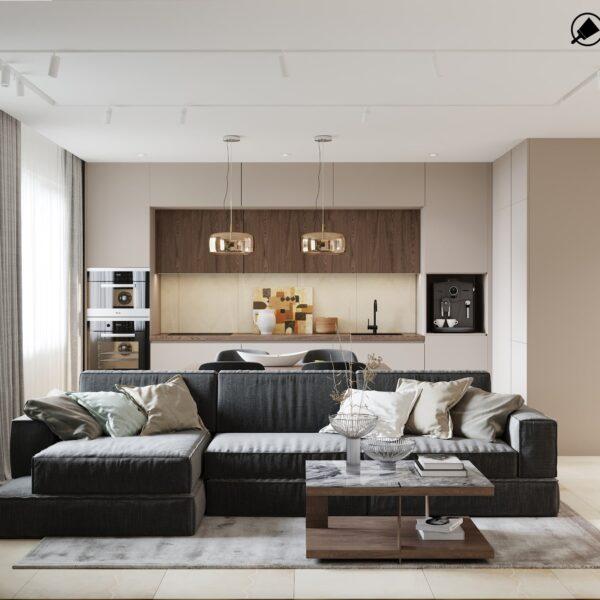 Дизайн интерьера квартиры ЖК