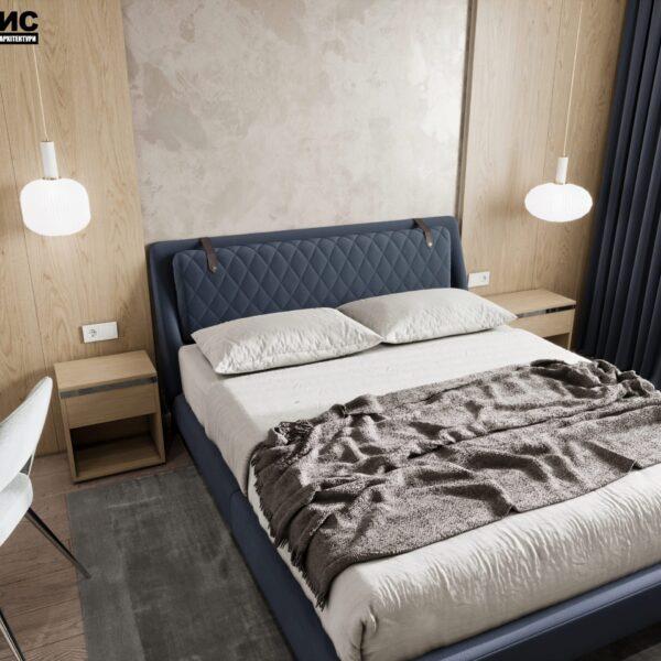 """Дизайн-проект гостиницы """"CITY LIFE"""", комната №4 вид сверху"""