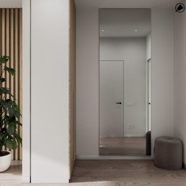 """Дизайн-проект готелю """"CITY LIFE"""", кімната №4 передпокій"""