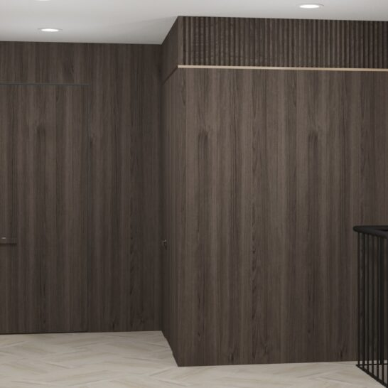 """Дизайн-проект двоповерхової квартири ЖК """"Клеменова Дача"""", хол"""