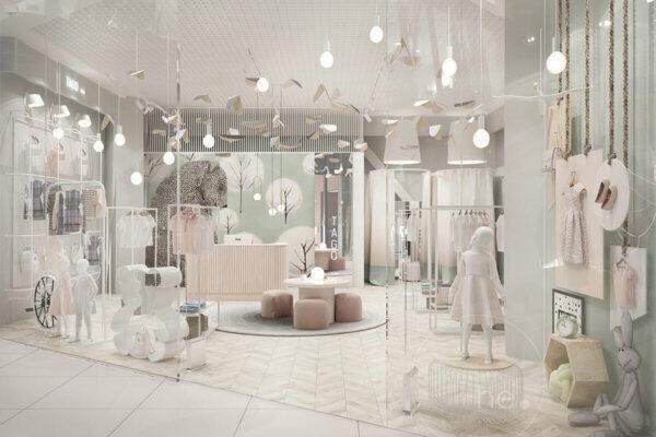 Дизайн интерьера магазина, торгового помещения, бутика, фото 2