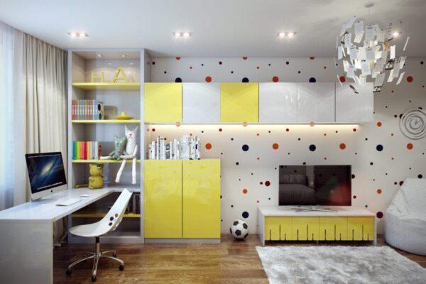 Дизайн дитячої кімнати, фото 1