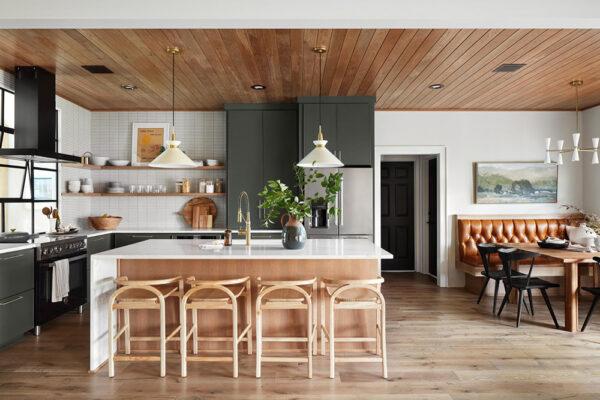 Визуализация интерьера, кухня