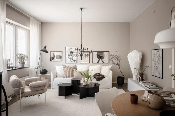 Визуализация интерьера, гостиная