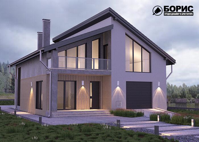 Проектирование домов, частный дом