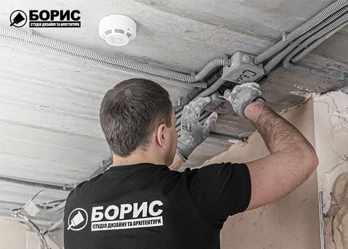 Ремонт под ключ в Харькове, электрика