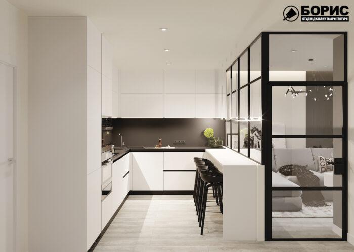 Дизайн інтер'єру в Харкові, кухня
