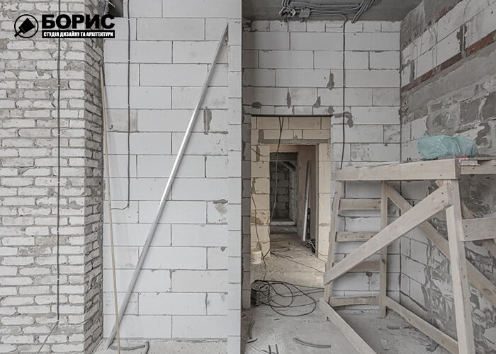 Ремонт трехкомнатной квартиры в Харькове, черновые работы