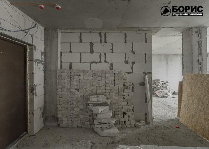 Ремонт трикімнатної квартири в Харкові, ремонт під ключ