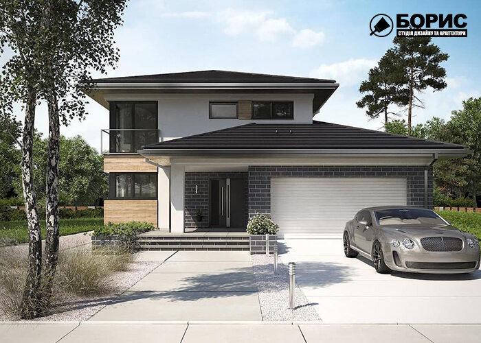 Проекти будинків з гаражем, будинок