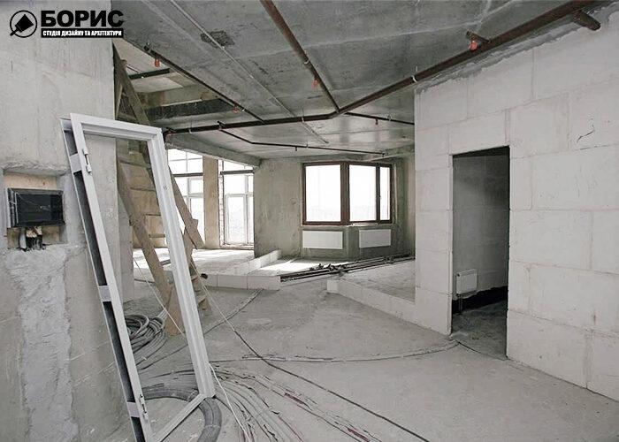 Ремонт трёхкомнатной квартиры под ключ.