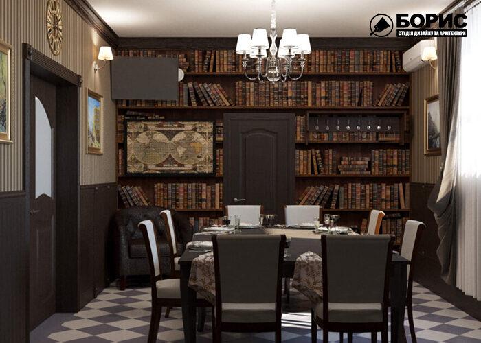 Дизайн інтер'єру ресторану в Харкові, дизайн ресторану