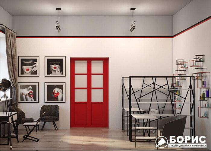 Дизайн інтер'єру салону краси в Харкові