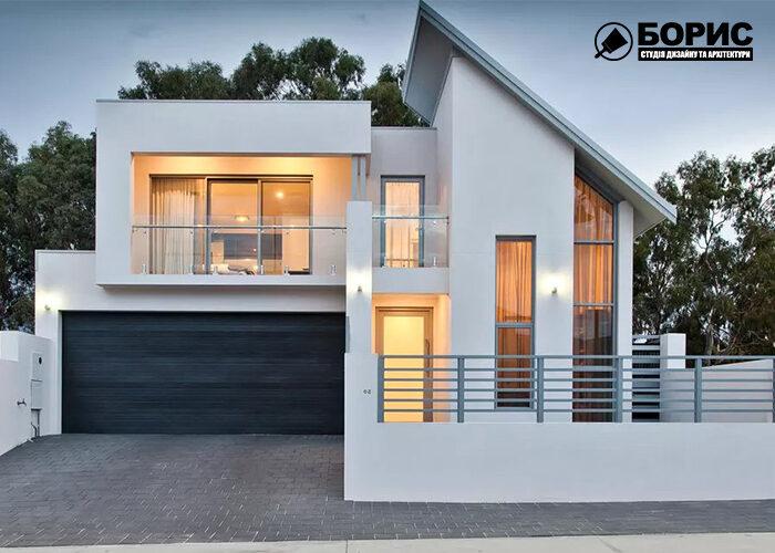 Проекти будинків з гаражем, котедж