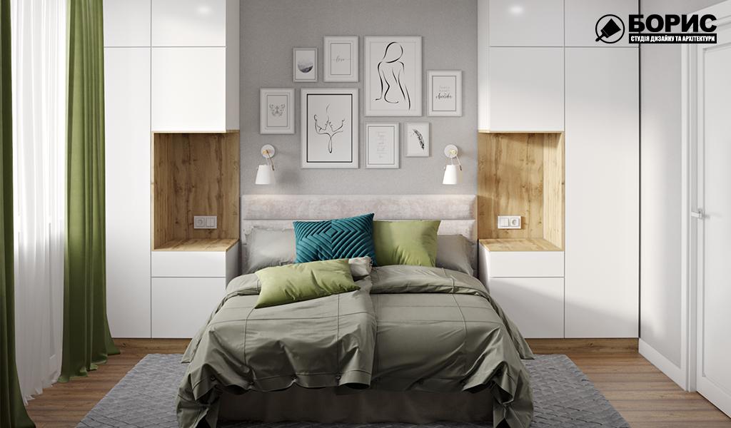 Дизайн интерьера в Харькове, спальня