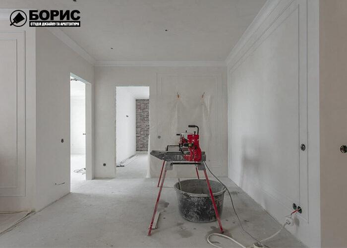 Ремонт чотирикімнатної квартири в Харкові, ремонтні роботи