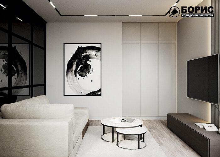Капитальный ремонт квартир, гостиная