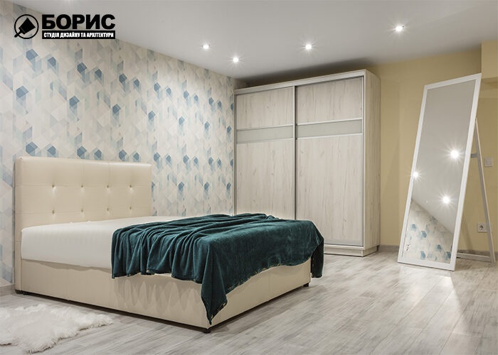 Дизайнерский ремонт, спальня
