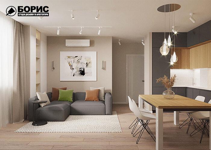 Дистанционный дизайн, гостиная