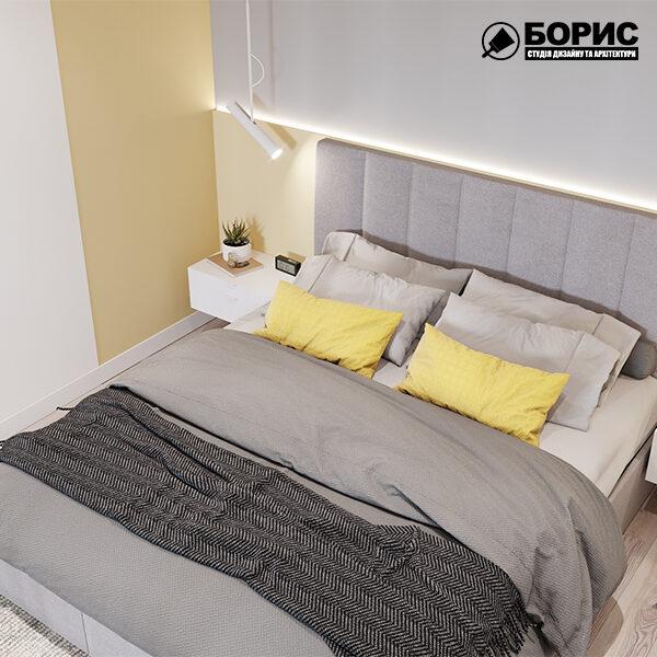 Скільки коштує ремонт двокімнатної квартири під ключ, спальня