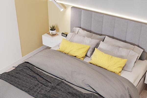 Сколько стоит ремонт двухкомнатной квартиры под ключ, спальня
