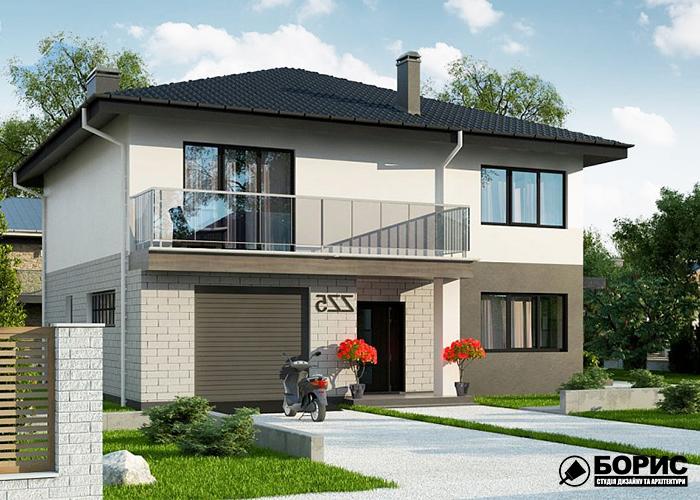 Проектування будинків з гаражем в Харкові