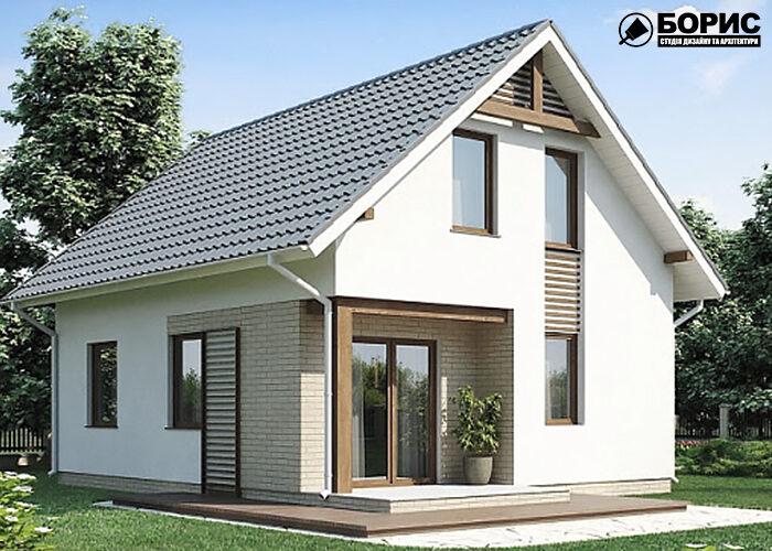 Повністю готовий будинок з газобетону в Харкові.