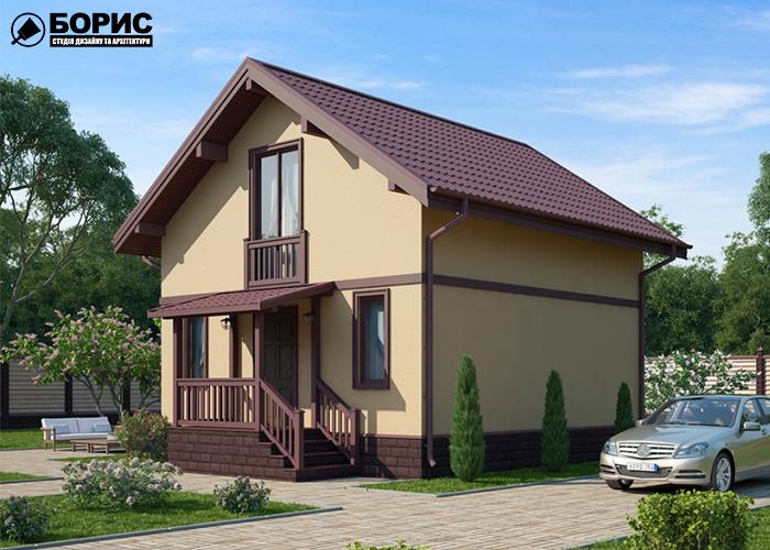 Дом из сип панелей в Харькове