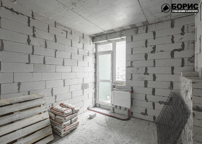 Процесс строительства угловой комнаты в Харькове.