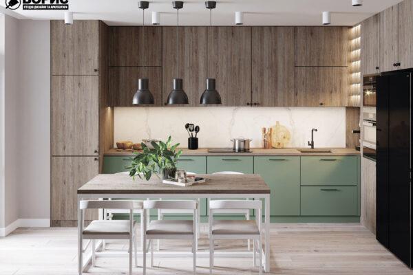 Дизайн-проект інтер'єра квартири у ЖК «Сінергія Сіті»