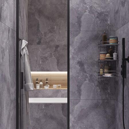 Дизайн-проект квартири по вул. Семінарській, ванна вид праворуч