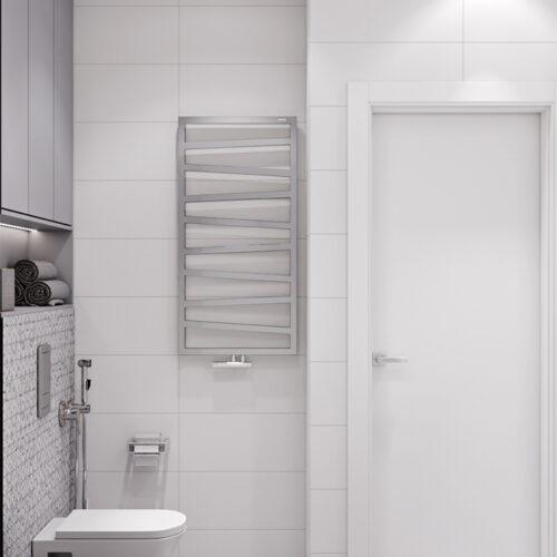 Дизайн-проект интерьера квартиры «ЖК Левада 2», санузел вид слева