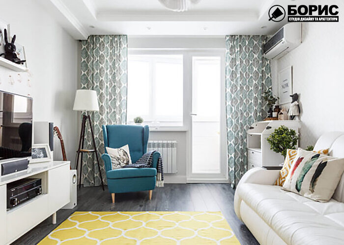 Дизайн інтер'єру квартири в чешці, передпокій