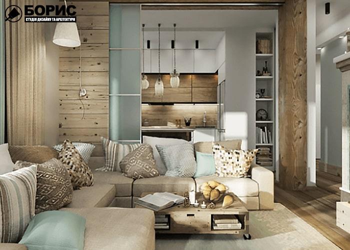Дизайн интерьера прихожая с мягкой мебелью