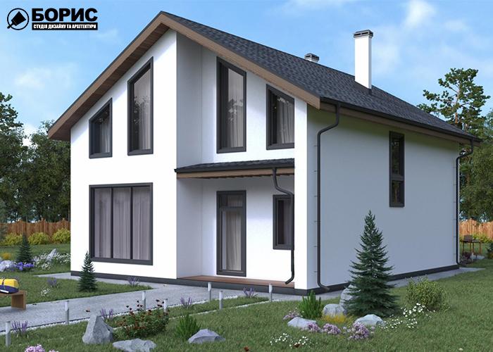 Строительство дома из газобетона.