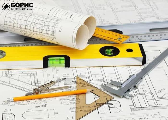 Архитектурное проектирование на этапе чертежа.