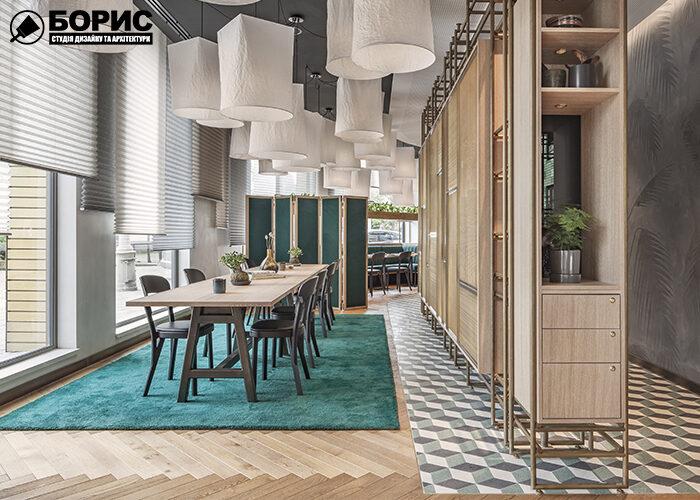 Ремонт ресторану з сучасним дизайном