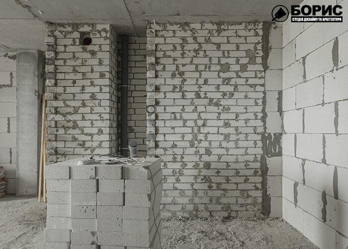 Ремонт в новостройке, процесс ремонта в прихожей