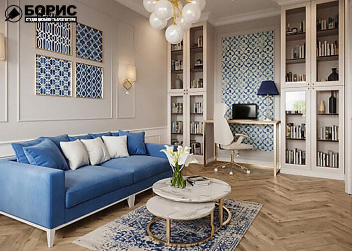 Дизайн інтер'єру двокімнатної квартири, передпокій