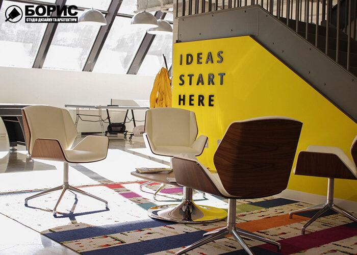 Дизайн офисов, в современном стиле