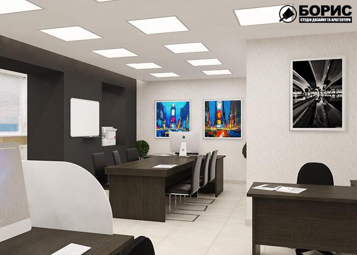 Дизайн офисов, со светлым дизайном