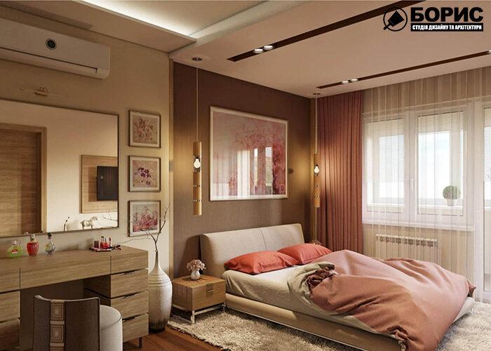 Дизайн помещений в популярных стилях, спальня фото №2