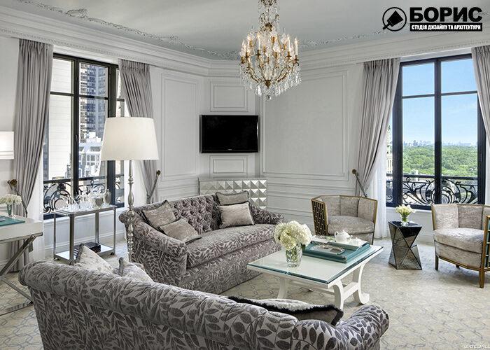 Дизайн приміщення в популярних стилях, вітальня