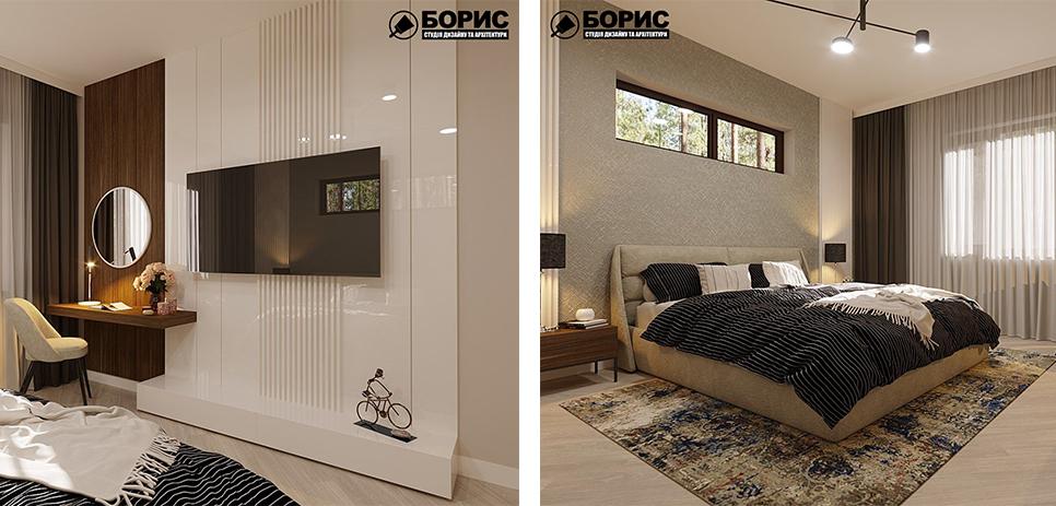 Дизайн таунхаусу, кухня і вітальня