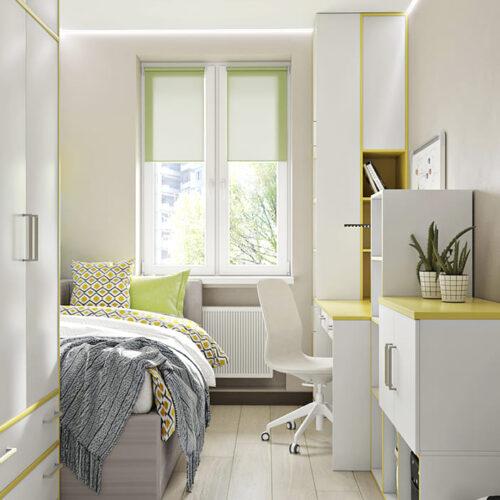 Дизайн-проект інтер'єру квартири по пр. Науки, дитяча з видом на вікно