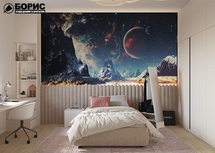 Дизайн спальни и детской комнаты, спальня